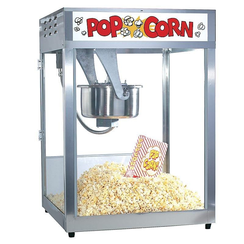 16 oz commercial popcorn popper machine wonderland food