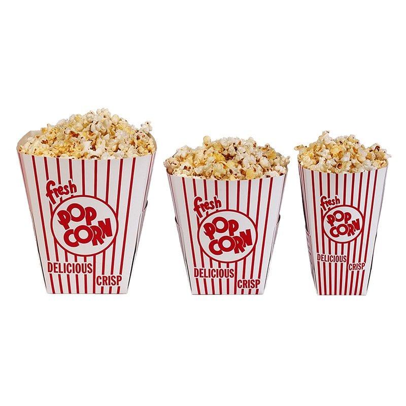 Popcorn Tub Boxes Wonderland Food Amp Equipment